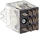 Omron LY3F-AC24 General Purpose Relay, Standard Type, Plug-In/Solder Terminal, Upper Mount...