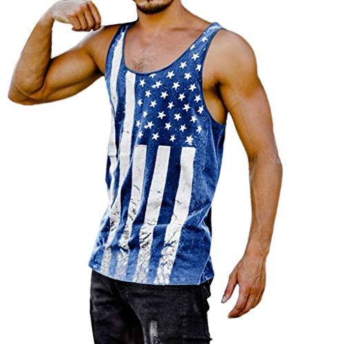 Fannyfuny camiseta sin Mangas Camisetas para Hombre Camisetas De Tirantes de Hombre...