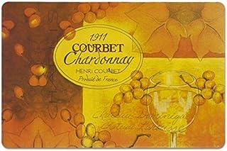 Zeller Ensemble de Sets de Table Chardonnay 44x29cm, Autre, Multicolore