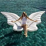 RXDRO Flotador De Piscina Inflable, Boyas De Agua Inflables con Alas De Mariposa, Playas para Adultos Y NiñOs, Fiestas, Juguetes De Vacaciones, Boyas Gigantes