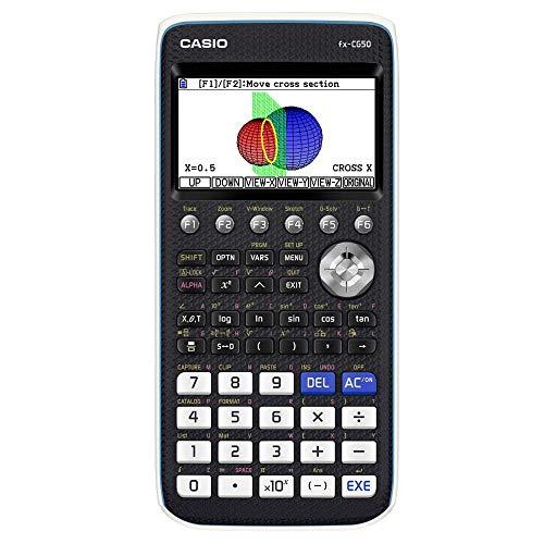 Casio FX-CG50 Grafikrechner mit hochauflösendem Farbdisplay (Blisterverpackung)