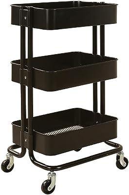 Amazon.com: Carro de almacenamiento de 3 niveles para cocina ...