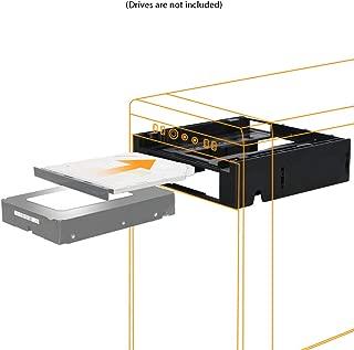 "ICY DOCK 5.25"" Ext. Bay to 3.5"" HDD/Device Bay + Ultra Slim ODD Bay Mounting Kit Bracket - Flex-FIT Duo MB343SPO"