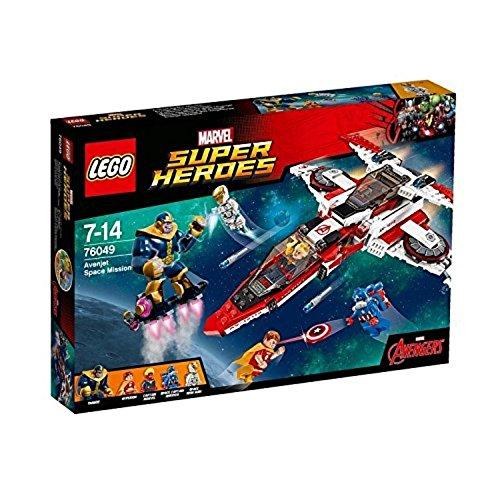 LEGO Super Heroes Missione Spaziale dell'AvenJet, Multicolore, 76049