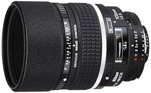 Nikon 単焦点レンズ Ai AF DC Nikkor 105mm f/2D フルサイズ対応