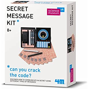 4M Great Gizmos 4131SM Science Museum Secret Message Kit