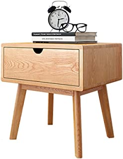 Bedside Table Bedside Table, Nordic Bedroom Storage Locker Mini with Drawers high Bedside Table, Suitable for Living Room/...