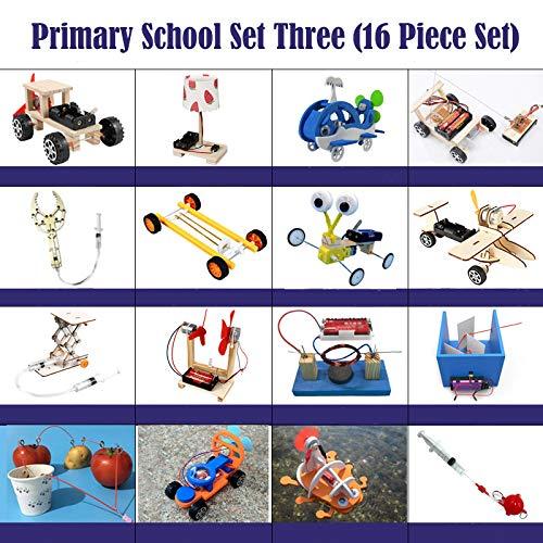 BIUYYY Éducation STEM 16 Pièces Kit D'expérimentation De...