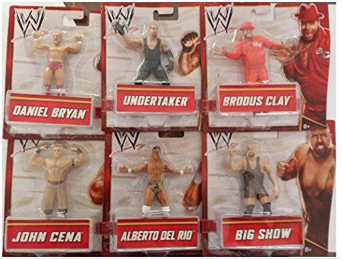 WWE Wrestler 10cm Figur (Sortimentsartikel) [UK Import]