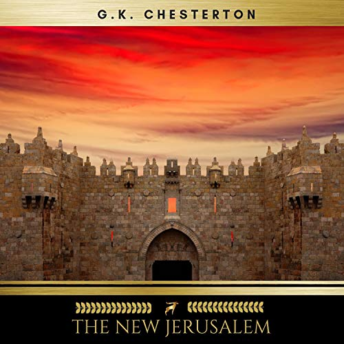 The New Jerusalem audiobook cover art