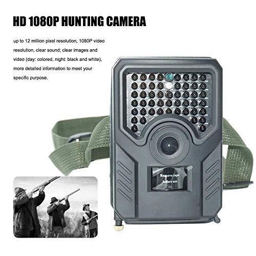 JFZCBXD HD 1080P cámara de la Caza 12MP visión Nocturna Impermeable 110 ° Grados del Sensor PIR Ancho de la Naturaleza al Aire Libre jardín Hogar de Vigilancia de Seguridad