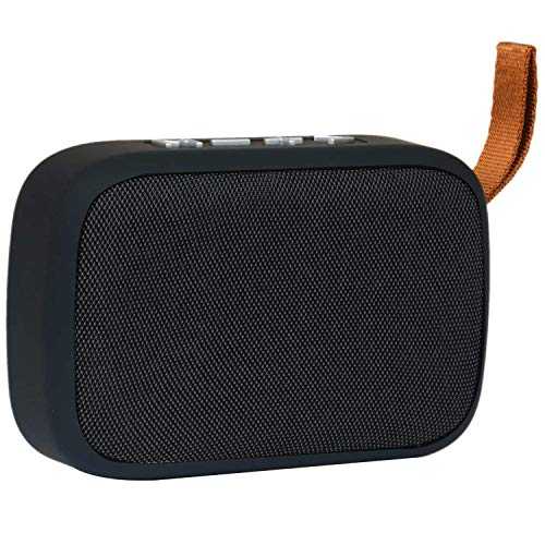 Rewy MMG2 Portable Bluetooth 4.1 Speaker with FM/USB/Micro SD Card/AUX Multimedia Speaker System for All Smartphone Device (Random Colour)