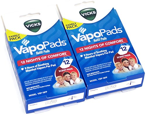 vicks steam inhaler pads - 5
