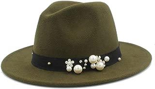 Enfants Garçons Filles Flat Top Laine Feutre Fedora Jazz Chapeaux Casquettes avec ceinture