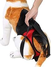 Arnés elevación para perros, patas delanteras y traseras para perros Arnés soporte Ayuda para caminar Levantamiento Chaleco tracción Soporte para mascotas y eslinga rehabilitación(Pata trasera s)