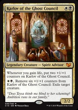 Magic The Gathering - Karlov of The Ghost Council (046/342) - Commander 2015