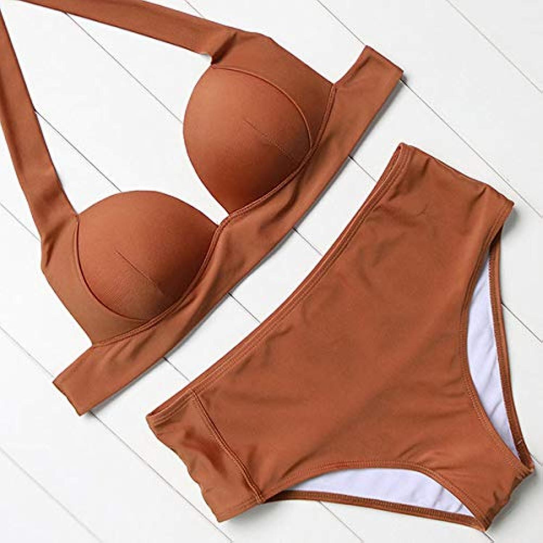 HITSAN OMKAGI Bikini 2018 Swimsuit Swimwear Women Biquini Push up Bikini Set Swimming Bathing Suit Beachwear Maillot De Bain Femme color B1635CO Size M
