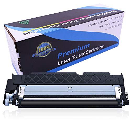 Cartucho de tóner 117A   W2070A W2071A W2072A W2073A (1Negro, 1Cian, 1Amarillo, 1Magenta) Compatible con HP Color Laserjet 150a 150nw 178nw 179fnw Impresora I con Chip-Negro