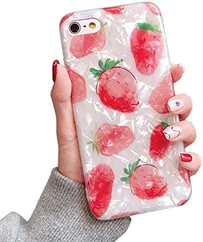 Dailylux for iPhone 6 Case iPhone 6S Case Glitter Pearly Lustre Translucent Shell Pattern Sparkle product image