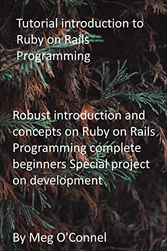 Tutorial introduction to Ruby on Rails Programming: Robust introduction and concepts on Ruby on Rails Programming complete beginners Special project on development