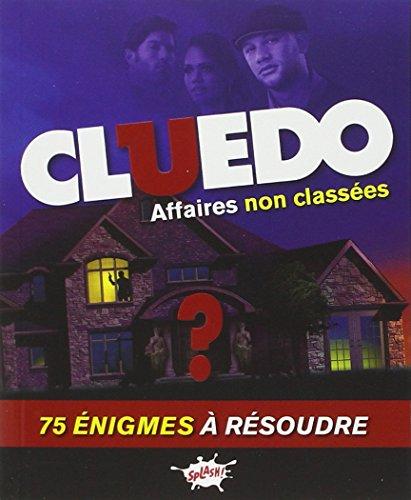 Cluedo - Mon carnet d'enigmes - tome 1 Affaires non classées (1)