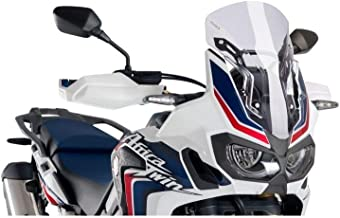 Puig 16-18 Honda CRF1000L Racing Windscreen (290mm Tall) (Clear)
