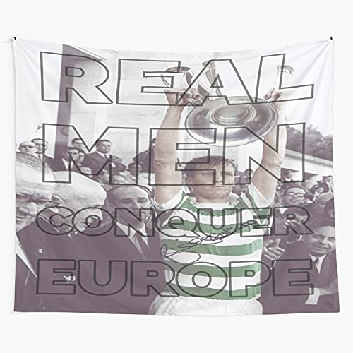 1967 Lions European McNeill Cup Lisboa Celtic Fc Billy Lisbon Wall Hanging Tapestry for Bedroom Trippy Room Decor