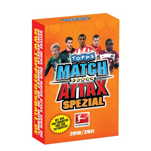 Topps Match Attax 2010-11 Spezial Pack VPE 10