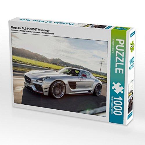 CALVENDO Puzzle Mercedes SLS PD900GT Widebody 1000 Teile Puzzle quer 1000 Pieces 64 x 48 cm from Janusz Schnura