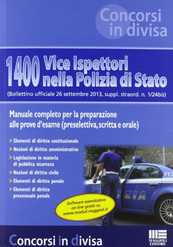1400 vice ispettori nella Polizia di Stato