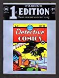 FAMOUS FIRST EDITION DETECTIVE COMICS NO. 27 MAY, 1939; LIMITED COLLECTORS' SILVER MINT SERIES; THE BATMAN