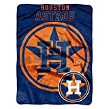 MLB Houston Astros 'Triple Play' Micro Raschel Throw Blanket, 46' x 60'