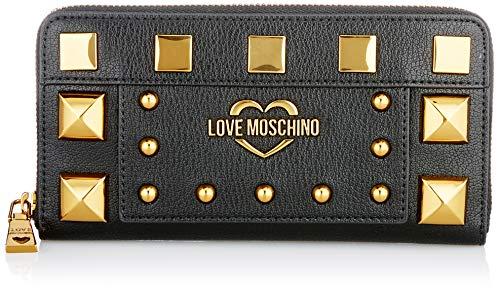 Love Moschino JC5650PP0BKO0, Portafogli Donna, Nero, Normale