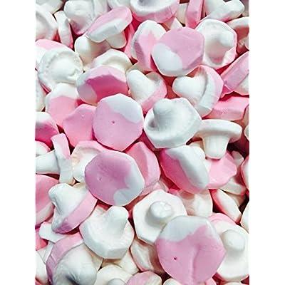 malaco pink raspberry mushroom marshmallows - scandinavian sweets (full tub 938g) Malaco Pink Raspberry Mushroom Foam – Scandinavian Sweets (Full Tub 938g) 51gUSVf42qL