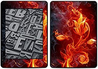 Flower of Fire Amazon Kindle Paperwhite 2018 Full Vinyl Decal - No Goo Wrap, Easy to Apply Durable Pro
