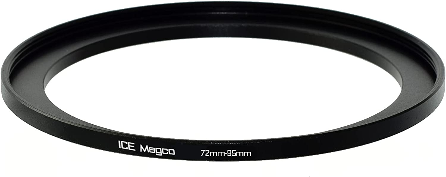 ICE Magco 72mm-95mm Magnetic Step Up 95 Ring Adapter Arlington Mall 72 Filter Manufacturer OFFicial shop