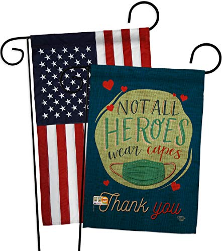 Ornament Collectionthank You All Heroes Garden Flag Pack Expression Inspirational Spiritual Hope Love Wisdom Support Emotion Postive Usa Applique House Banner Small Yard Gift Double Sided Made In 13 X 18 5 Dailymail