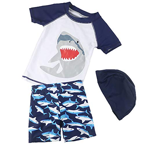 Baby Boys Two-Piece Swimsuits Rash Guard