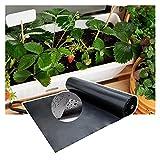 RT-OSXE 0.5mm Fischteichfolie, Gummi Undurchlässige Membran, Faltbar Dauerhaft Teichfolien für Garten Schwimmbad Unterlage, Anpassen (Color : Black (0.5mm), Size : 5mx6m)