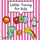 Letter Tracing for Kids: Practice Tracing Letters and Alphabet, Ages 3-5, Preschool, Pink (ABC Learning for Toddlers, Pres...