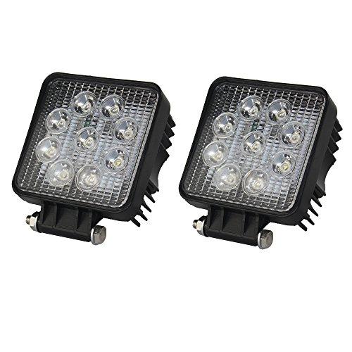 'btmtec 4.327W quadrato Faro di lavoro LED per fuoristrada Trattore Ruspa 2 pièce