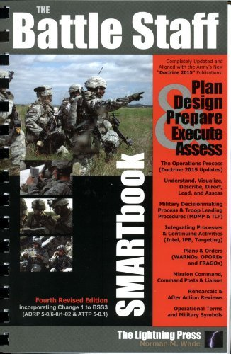 Battle Staff SMARTbook, 4th Rev. Ed Guide to Designing, Planning and Conducting Military Operations