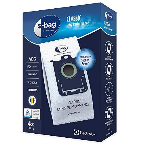 Véritable AEG Electrolux E201E201b Aspirateur S-Bag Chiffon Sacs à poussière (lot de 4)