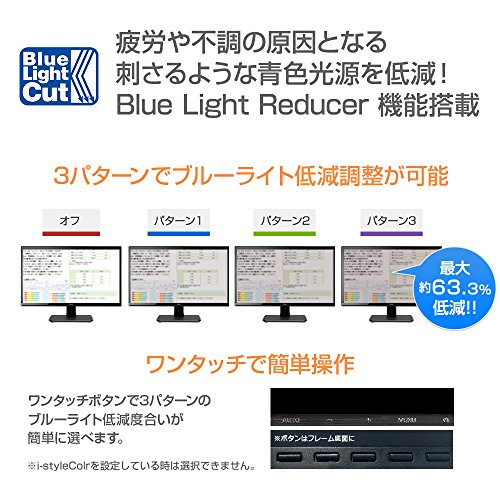 『iiyama モニター ディスプレイ XU2290HS-B2 (21.5インチ/フルHD/AH-IPS/HDMI,D-sub,DVI-D)』の7枚目の画像