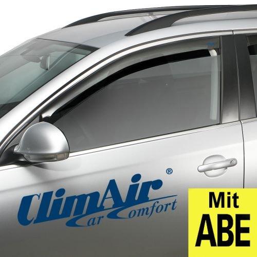 ClimAir CLI0033802 Windabweiser Profi Vorne rauchgrau