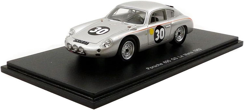 barato Spark s1878Porsche s1878Porsche s1878Porsche 356B Abarth Le Mans 1962 Escala 1 43, Plata  Venta en línea de descuento de fábrica
