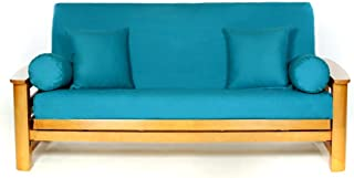 Lifestyle Covers 100 % Cotton Teal Full Size Futon Cover