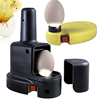 Brinseas OvaScope HIGH Intensity Egg Candler - for Highest Possible Visibility of The Growing Embryo Inside The Egg - Suitable for Darker, Mottled or Thicker-shelled Eggs