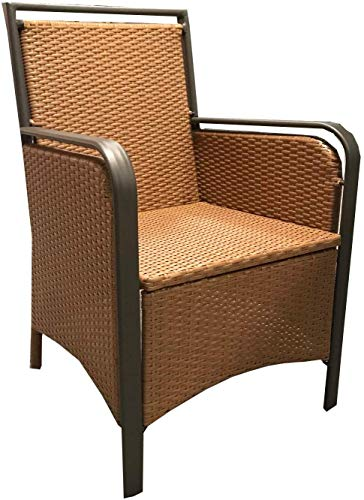wohnwerk Poly-Rattan Stuhl Palau beige Polyrattan Sessel Stühle Gartenmöbel
