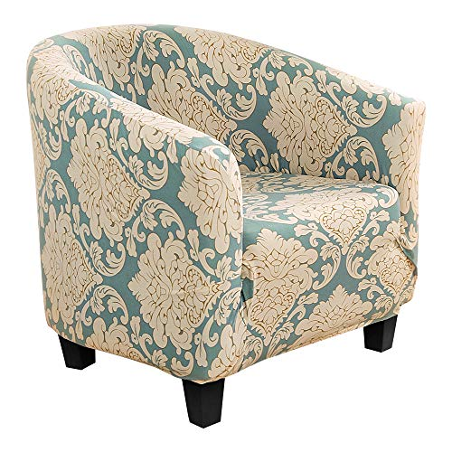 NIBESSER Sesselbezug Stretch Sesselüberwurf Sesselhusse Sesselschoner Modern Muster Elastisch Stretch Husse für Clubsessel Loungesessel Cocktailsessel